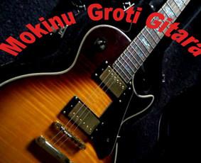 Gitaros pamokos mokinių amžius nesvarbus