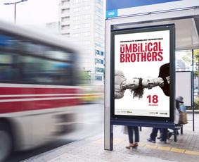 """The Umbilical Brothers"" stotelės maketas. Klientas: ""Fors Event"""