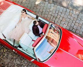 Prabangių automobilių nuoma vestuvėms