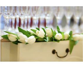 Vaišių staliukas po ceremonijos / Indrė / Darbų pavyzdys ID 258231