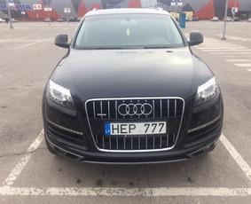Audi Q7 nuoma šventėms