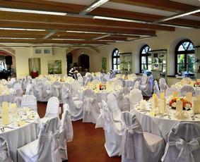 Paruosti stalai 150 asmenų jubiliejui