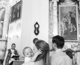 Krikštynų fotografija