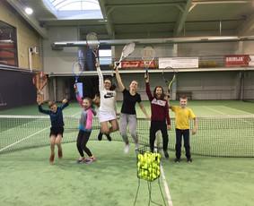 Teniso treniruotės Kaune