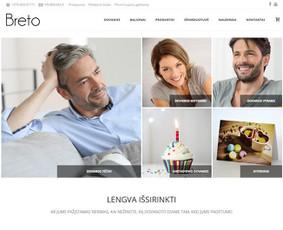 Interneto svetainių ir parduotuvių kūrėjas