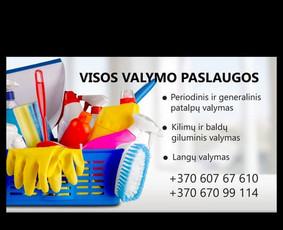 Valymo paslaugos Vilniuje