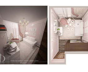 Interjero dizainerė Vilniuje / Jekaterina / Darbų pavyzdys ID 300049