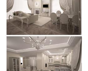 Interjero dizainerė Vilniuje / Jekaterina / Darbų pavyzdys ID 300067