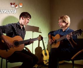 Kurkuria gitaros pamokos Kaune