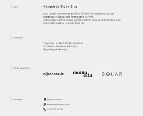 LOGOTIPŲ DIZAINAS / Kasparas Sipavičius / Darbų pavyzdys ID 314587
