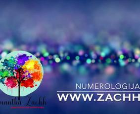 Astrologo numerologo konsultacija / Samantha Zachh / Darbų pavyzdys ID 317291