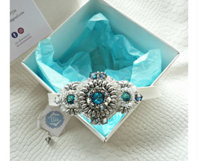 "Apyrankė ""Frozen beauty"" https://goo.gl/Nq7RGd"