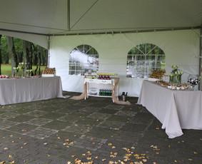 Vaišių staliukas po ceremonijos / Indrė / Darbų pavyzdys ID 317923