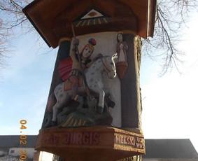 Kryžiai, koplytstulpiai, koplytėlės / Tomas Stambrauskas / Darbų pavyzdys ID 320381