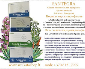 Prekyba Santegros maisto papildais