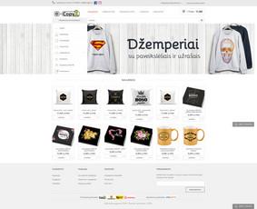 Interneto svetainių, el. parduotuvių kūrimas + Seo / Andrius Labunskas / Darbų pavyzdys ID 331395