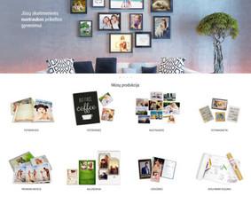 Interneto svetainių, el. parduotuvių kūrimas + Seo