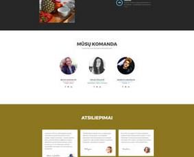 Interneto svetainių, el. parduotuvių kūrimas + Seo / Andrius Labunskas / Darbų pavyzdys ID 331399