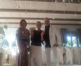 Renginių vedėja Kristina ir Grupė :)