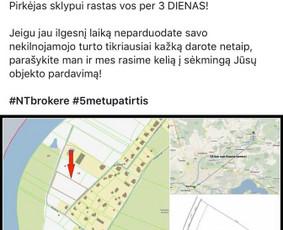 NT brokerė! 5 metų patirtis NT srityje! Kaunas