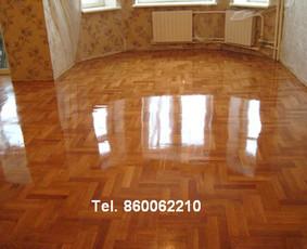 Slifavimas,atnaujinimas grindu,parketo