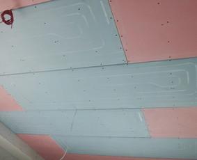 Šildomod vėdinamos lubos, veikiančios kaip kondicionierius