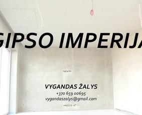 GIPSO IMPERIJA. Gipso kartono montavimas / Vygandas Žalys / Darbų pavyzdys ID 350797