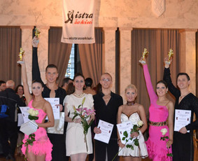 Lotynų Amerikos ir Europos šokiai / Meda Bagušinskė / Darbų pavyzdys ID 350951