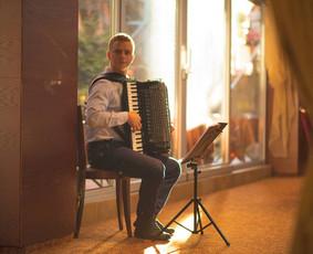 Profesionali akordeono muzika / Romas Morkūnas / Darbų pavyzdys ID 352423