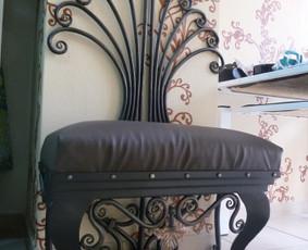 kalviški lauko ir vidaus baldai baldai