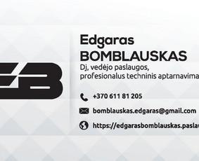 Šventinės nuotaikos kūrėjas / Edgaras Bomblauskas / Darbų pavyzdys ID 356399