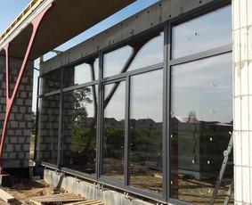 Plastikiniai langai. Balkonu stiklinimas