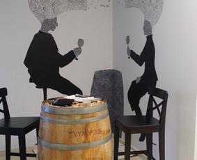 Sienų tapyba, grafika Piesiniai ant sienu dekoravimas