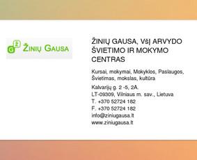 Lietuvių kalbos mokytoja Kaune / Asta Merkevičienė / Darbų pavyzdys ID 358343