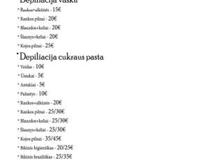 Depiliacija cukraus pasta ir vašku