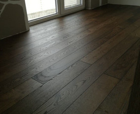 medinių grindų montavimas