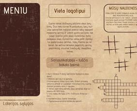 Grafikos dizaineris / Emilija Gražytė / Darbų pavyzdys ID 375201