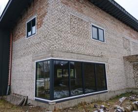 Plastiko, Aliuminio, Medžio profilio langai,durys,pertvaros / UAB JUSTIGNA / Darbų pavyzdys ID 376463