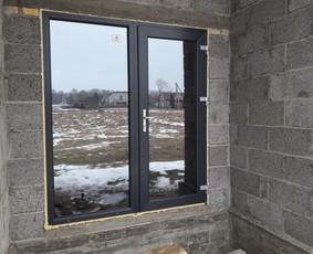Plastiko, Aliuminio, Medžio profilio langai,durys,pertvaros / UAB JUSTIGNA / Darbų pavyzdys ID 376495