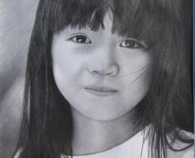 Portretų piešimas iš nuotraukų / Lina / Darbų pavyzdys ID 379447