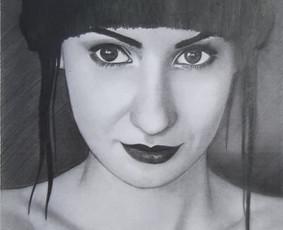 Portretų piešimas iš nuotraukų