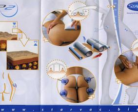 Vakuuminis-anticeliulitinis masažas Starvac Sp2 aparatu