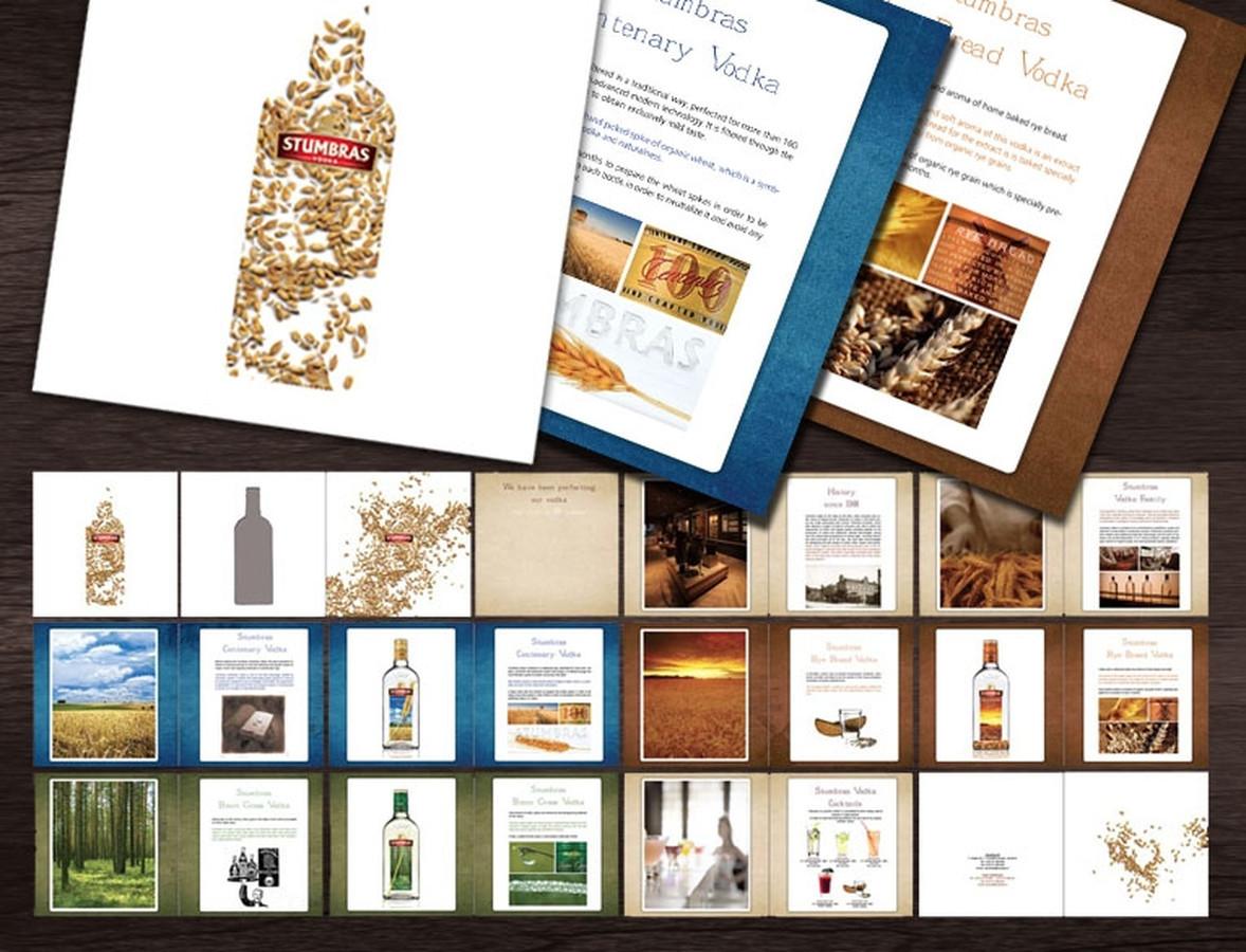 Stumbras vodka Brošiūra | Brochure