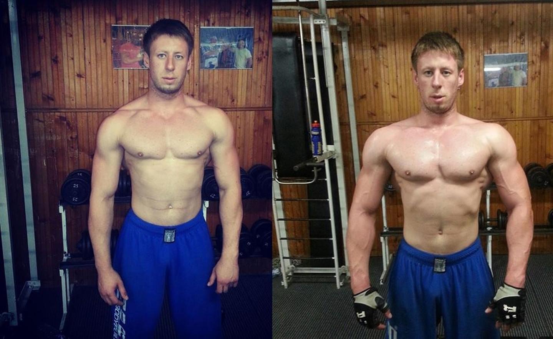 Vienos krutinės raumenų treniruotės efektas.