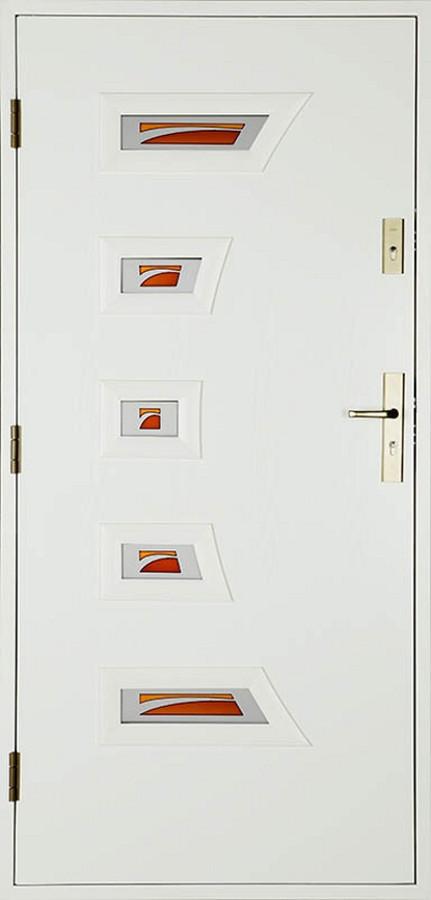"""Šiltos lauko įėjimo durys. """"Modernios"""""""