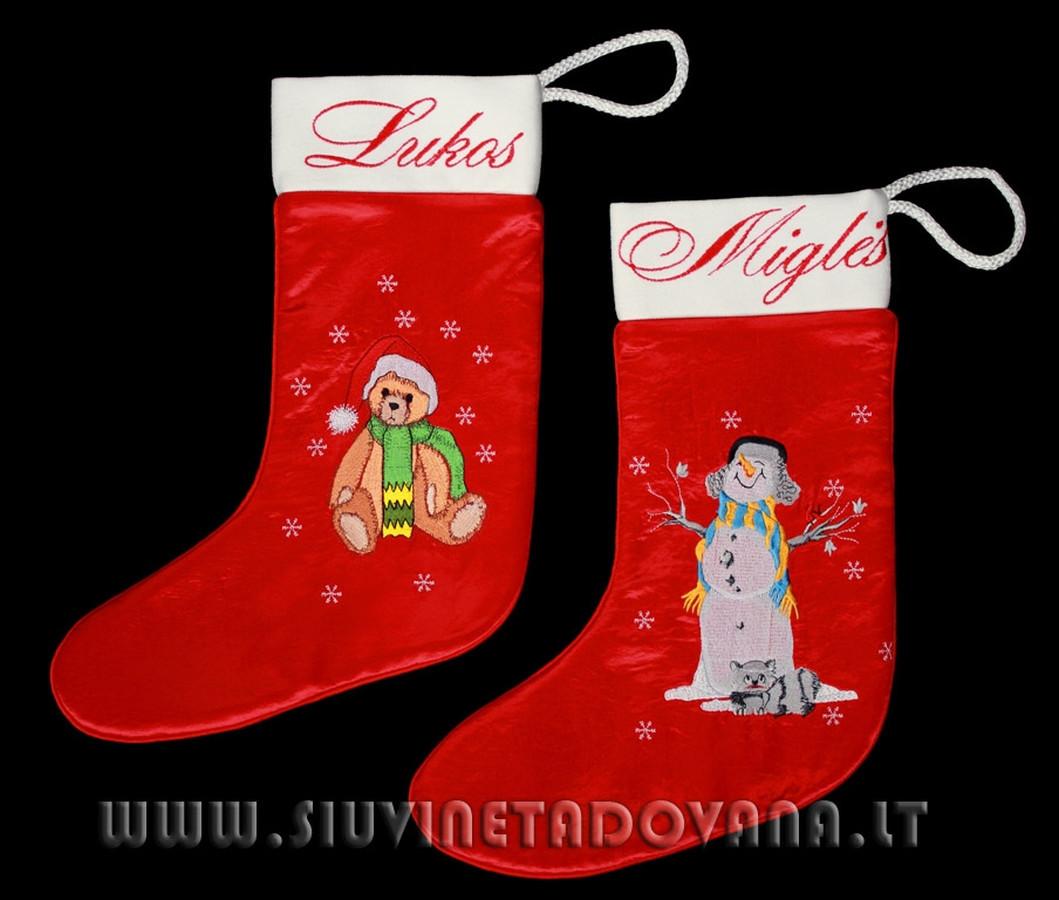 Kalėdino kojinė dovanoms