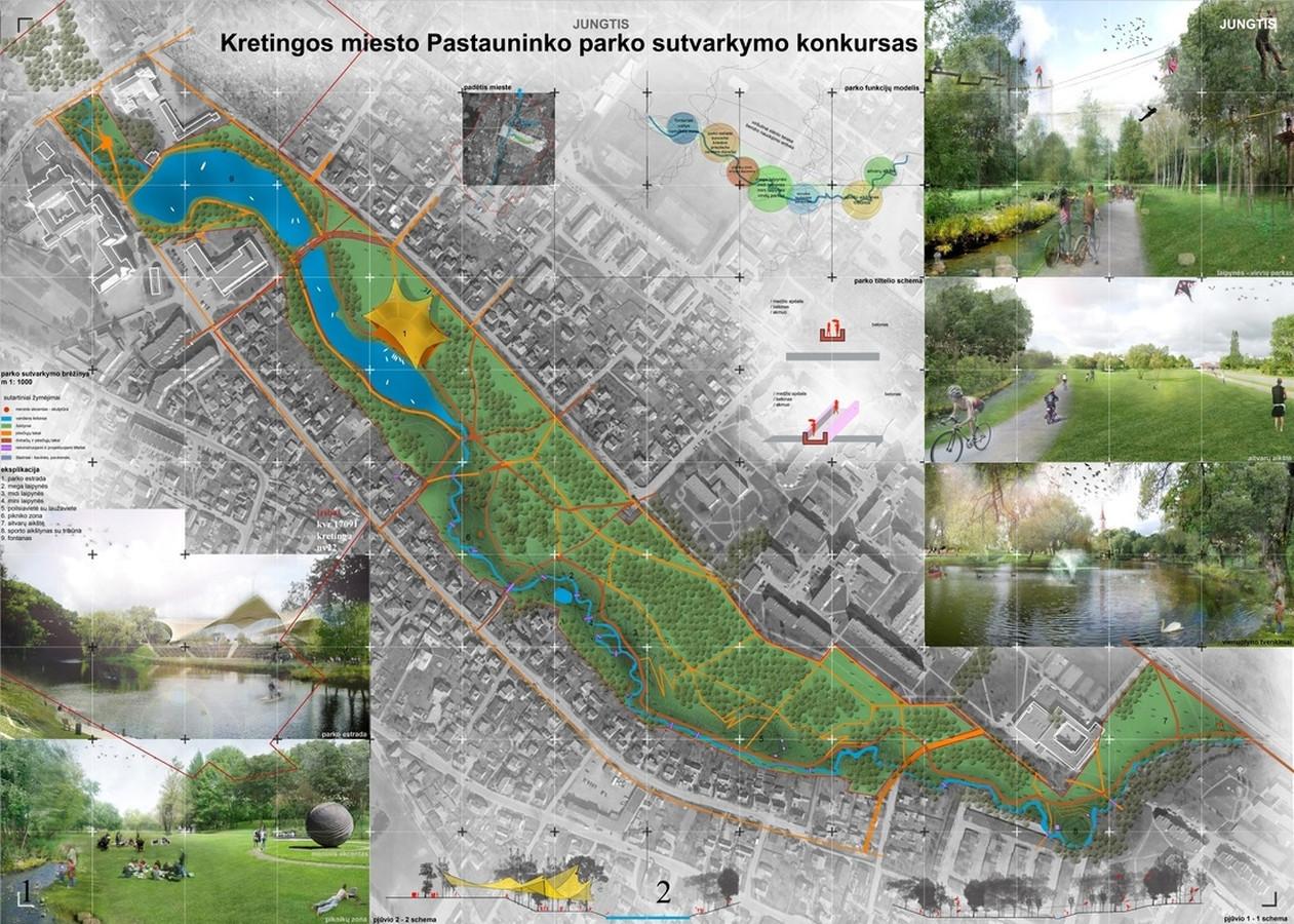 Kretingos miesto Pastauninko parko sutvarkymo projektas