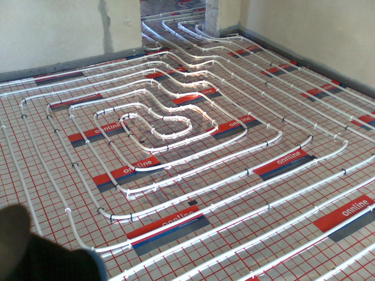 Šildomų grindų įrengimas nuo 4€/1kv