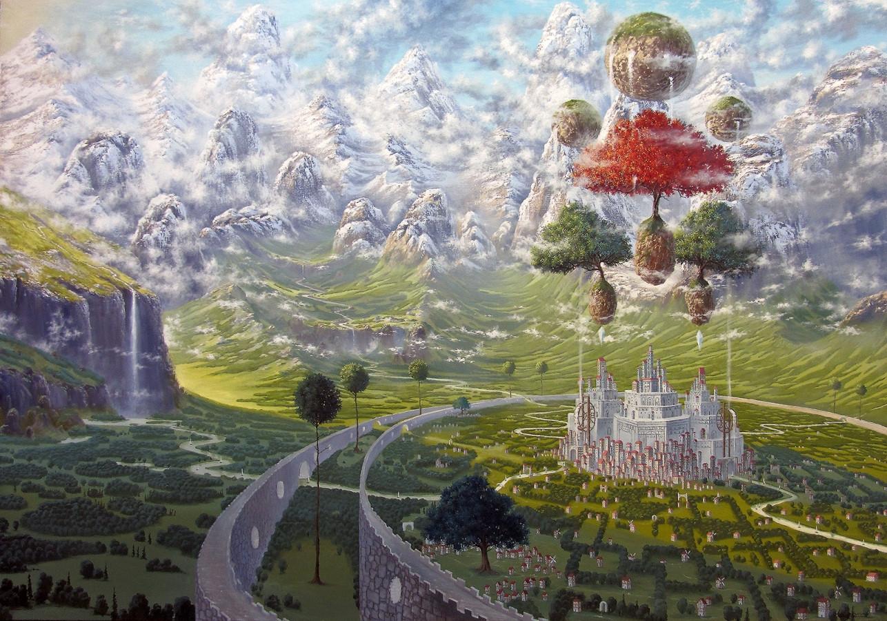 """""""Karalystė"""" Paveikslas tapytas ant drobės aliejiniais dažais, dydis 160x110cm. (PARDUOTA)"""