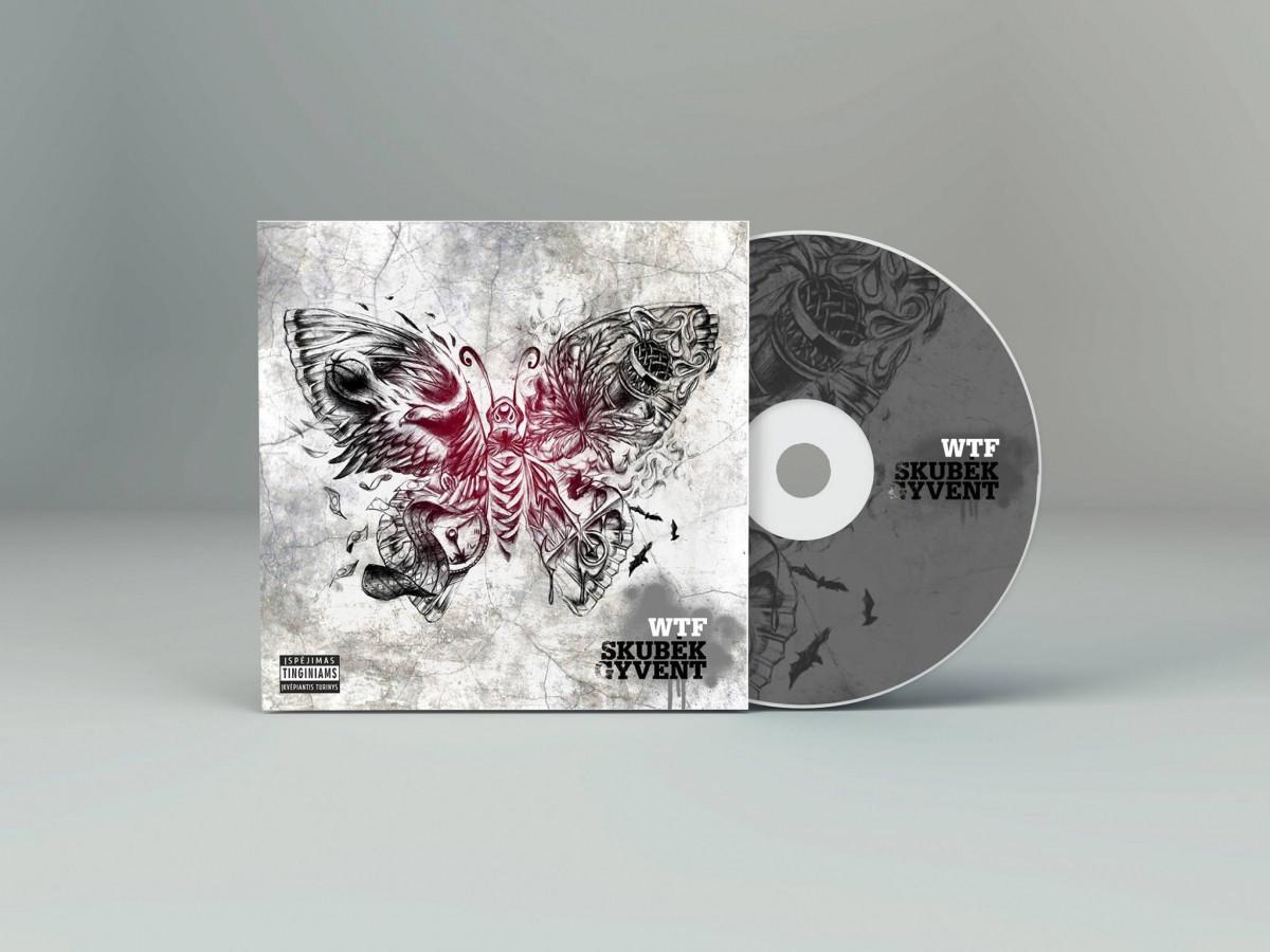 Albumo viršelis daugiau info: www.facebook.com/egilldesign